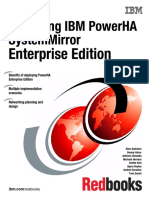 Exploiting IBM PowerHA SystemMirror Enterprise Edition