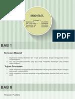 Bismillah Ppt Biodiesel