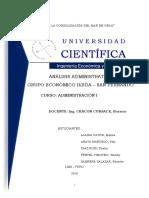 Análisis Administrativo - Grupo Ikeda - San Fernando (1)