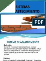 2. Sistema Abastecimiento