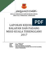 Laporan Kejohanan Balapan Dan Padang
