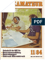 Funkamateur 1984-11 (Radioaficionado)