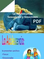 La Adolescencia Presentacion SEXUALIDAD