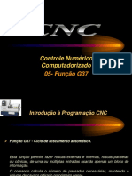 Aulas 05 - CNC- Função G37-Ciclo de Roscamento Automático
