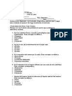 2ª Prueba de Ciencias de v Grado Del 1 ª Periodo 2010.