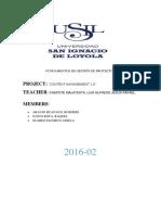 Fundamento de gestión de proyectos- proyecto PMI(Cm 2.0)