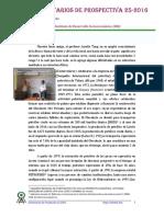 Comentarios Prospectiva 25-2016 -El Pato Rengo 04.07.2016