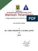WATIKAH PELANTIKAN 2015