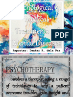 Treatments of Mental Diseases
