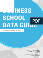 2016 Business School Data Guide AACSB
