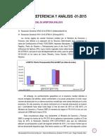 Nota de Referencia y Análisis-01-2015