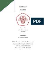 Cover Laporan Scabies- Radius