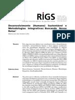 RIGS 2016 Desenvolvimento Humano Sustent