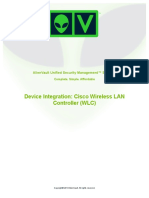 Device Integration Cisco WLC