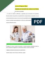 Cuidados de Enfermeria en Pacientes de Consulta Externa