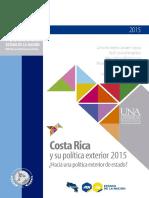Costa Rica y su política exterior 2015