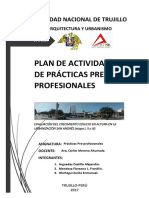 Plan de Trabajo Practicas profesionales