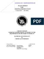 259874052 Ammonia Plant Design