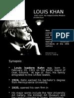 Loius Khan