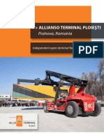 With Compliments - AlliansoTerminal Ploiesti