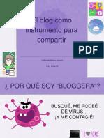 Educabloggers. Presentaciónn Yoly infantil