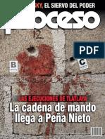 Revista Proceso N.2018 ZAVLUDOVSKY%2C EL SIERVO DEL PODER LAS EJECUCIONES DE TLATLAYA.pdf
