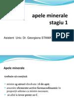 LP 1. Apele Minerale