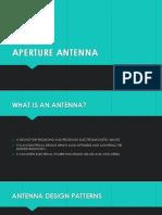 Aperture Antenna