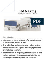 Bed Making(CG)
