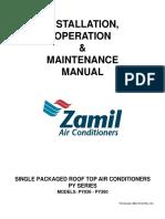 ZAMIL PY Series Installation, Operation & Maintenance Manual