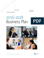HR BusinessPlan