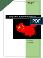 La Perspective Du Commerce Chinois
