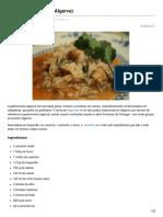 Arroz de Lingueirão Algarve