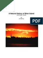 A Natural History of Brier Island NS