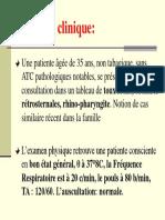 Cas clinique N°1 IRABC