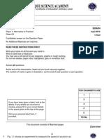 Physics Paper 4 C 2 July PDF.