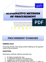 06 Alternative Methods of Procurement Rev Msy