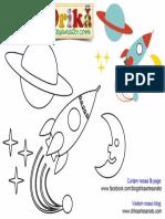 Patchwork Moldes Foguete e cenário para patch aplique.pdf