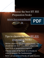 310344802 How to Choose the Best IIT JEE Preparation Books