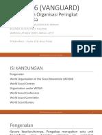 Struktur Dan Organisasi Pengakap Peringkat Antarabangsa