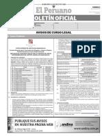 Diario Oficial El Peruano, Edición 9744. 02 de julio de 2017