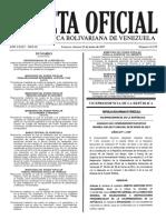 Gaceta Oficial Número 41.179 de la República de Venezuela, 23 de junio de 2017