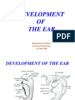 Development of the Ear