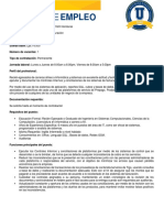 Analista de Sistemas de Facturacion Ingenieria en Sistemas Informatica Administrativa