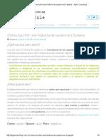 Cómo escribir una historia de usuario en 5 pasos - Agile Coaching.pdf