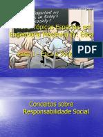 Curso de Ética - Conceitos Sobre Responsabilidade Social