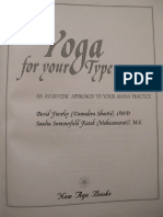 Yoga for your  Ayurvedic Approach to Your Asana Practice.pdf