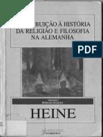 01 HEINE, Heinrich - Contribição à História Da Religião e Filosofia Na Alemanha 1991