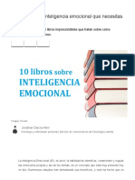 10 Libros Sobre Inteligencia Emocional Que Necesitas Leer
