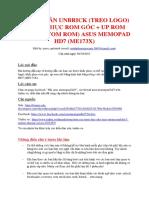 Hướng Dẫn Unbrick - Recovery Rom Stock - Uprom